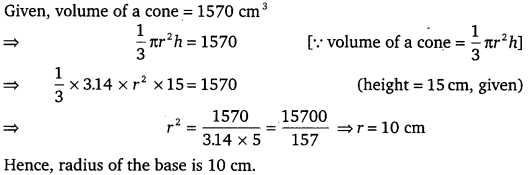 NCERT Solutions for Class 9 Maths Chapter 13 Surface Areas and Volumes Ex 13.7.3