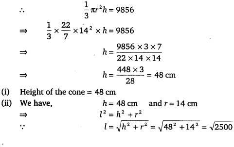 NCERT Solutions for Class 9 Maths Chapter 13 Surface Areas and Volumes Ex 13.7.6