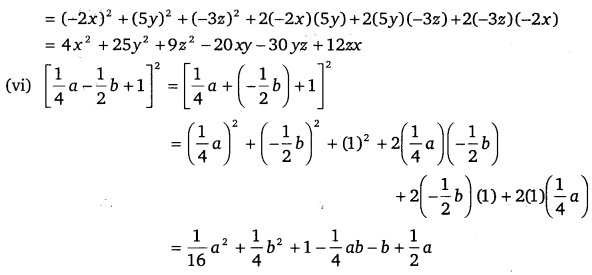 NCERT Solutions for Class 9 Maths Chapter 2 Polynomials Ex 2.5.4
