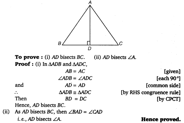 NCERT Solutions for Class 9 Maths Chapter 7 Triangles Ex 7.3.4