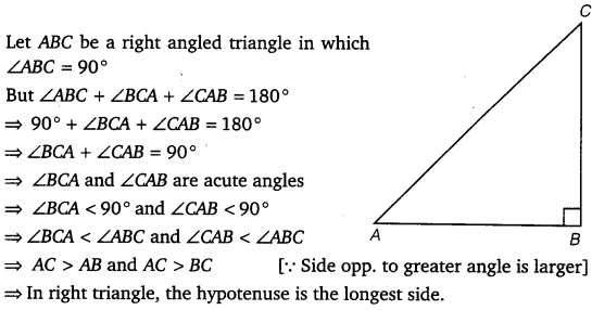 NCERT Solutions for Class 9 Maths Chapter 7 Triangles Ex 7.4.1