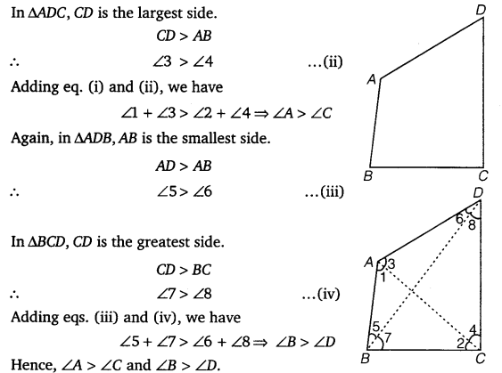 NCERT Solutions for Class 9 Maths Chapter 7 Triangles Ex 7.4.4