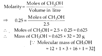 NCERT Solutions for Class 11 Chemistry Chapter 1 Some Basic Concepts of Chemistry 12