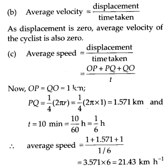 NCERT Solutions for Class 11 Physics Chapter 4 Motion in a Plane 9