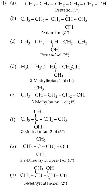 NCERT Solutions for Class 12 Chemistry Chapter 11 Alcohols, Phenols and Ehers 23