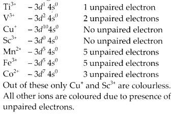 NCERT Solutions for Class 12 Chemistry Chapter 8 d-and f-Block Elements 6