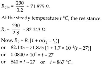 NCERT Solutions for Class 12 Physics Chapter 3 Current Electricity 10