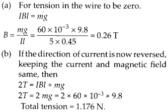 NCERT Solutions for Class 12 Physics Chapter 4 Moving Charges and Magnetism 36