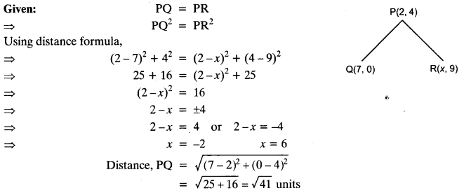 Coordinate Geometry Class 10 Maths CBSE Important Questions With Solutions 109
