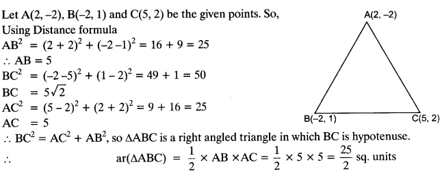 Coordinate Geometry Class 10 Maths CBSE Important Questions With Solutions 6
