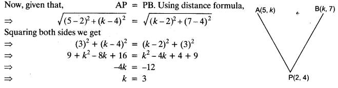 Coordinate Geometry Class 10 Maths CBSE Important Questions With Solutions 91