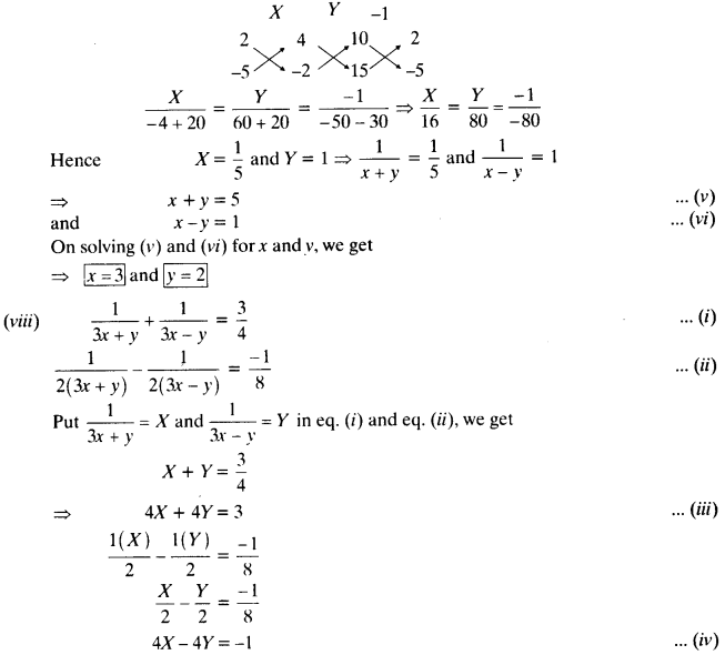 NCERT Solutions for Class 10 Maths Chapter 3 Pair of Linear Equations in Two Variables e6 12