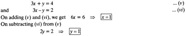 NCERT Solutions for Class 10 Maths Chapter 3 Pair of Linear Equations in Two Variables e6 14