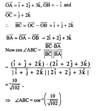 NCERT Solutions for Class 12 Maths Chapter 10 Vector Algebra Ex 10.3 Q15.1