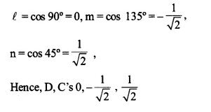 NCERT Solutions for Class 12 Maths Chapter 11 Three Dimensional Geometry Ex 11.1 Q1.1