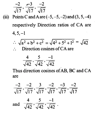 NCERT Solutions for Class 12 Maths Chapter 11 Three Dimensional Geometry Ex 11.1 Q5.2