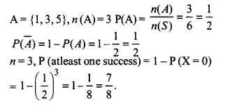 NCERT Solutions for Class 12 Maths Chapter 13 Probability Ex 13.2 Q12.1