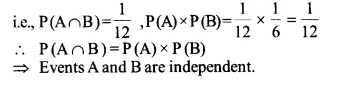 NCERT Solutions for Class 12 Maths Chapter 13 Probability Ex 13.2 Q4.1