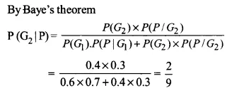 NCERT Solutions for Class 12 Maths Chapter 13 Probability Ex 13.3 Q9.1