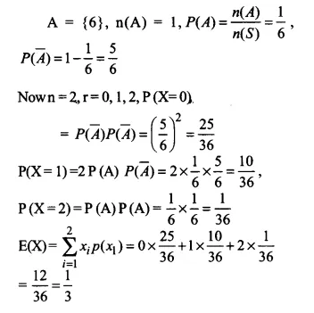 NCERT Solutions for Class 12 Maths Chapter 13 Probability Ex 13.4 Q11.1
