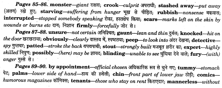 NCERT Solutions for Class 7 English Honeycomb Chapter 6 Expert Detectives 3