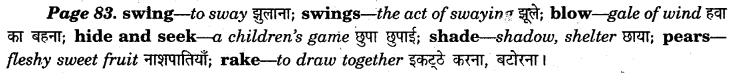 NCERT Solutions for Class 7 English Honeycomb Poem5 Trees
