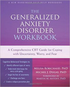 Books: Generalized Anxiety Disorder Workbook