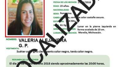 MORELIA Localiza PGJE a adolescente reportada desaparecida en Morelia - copia