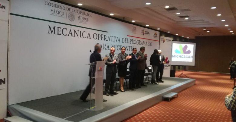 Arranca el taller de Operativa del Programa 3x1 en Michoacán