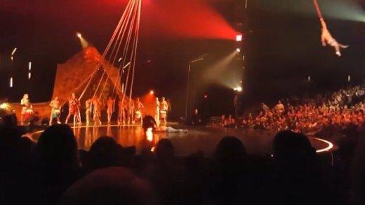 VIDEO: Muere Yann Arnaud, un acróbata veterano del Cirque du Soleil, por una caída durante un espectáculo