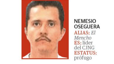 Extraoficial: Abaten al líder del cártel Jalisco Nueva Generación