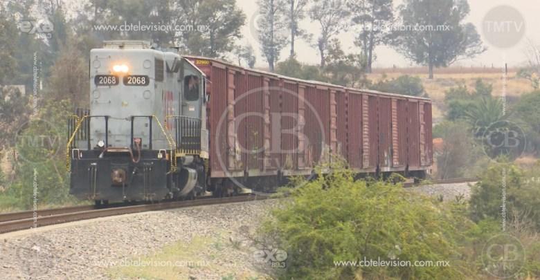 Continúan percances automovilísticos con el ferrocarril por falta de precaución