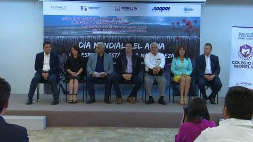 Ayuntamiento de Morelia celebra el Día Mundial del Agua
