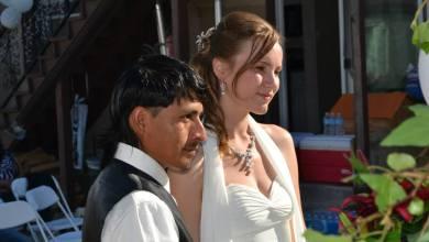 Revelan la gran historia de amor detrás de la boda que se hizo viral en Facebook