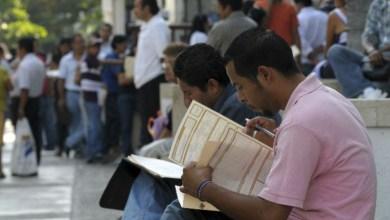 Sube la tasa de desempleo en México, según INEGI