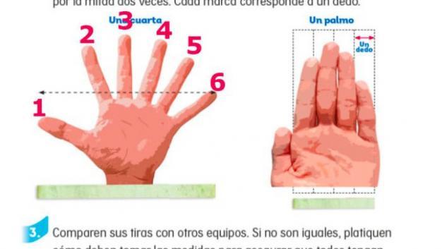 SEP corrige libro donde muestra mano con seis dedos