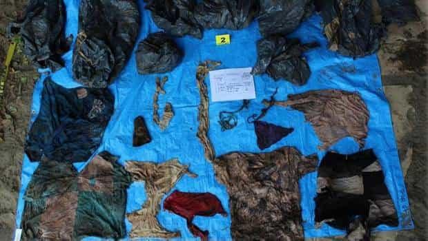 Ropa de bebé, en fosa clandestina de Veracruz con más de 170 restos