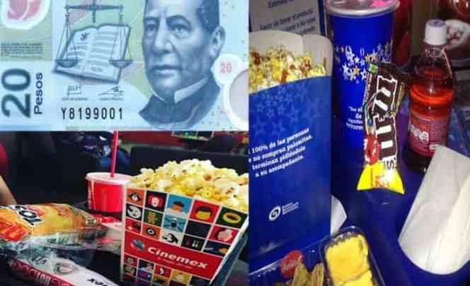 Cine a 20 pesos toda la semana para celebrar el mes patrio
