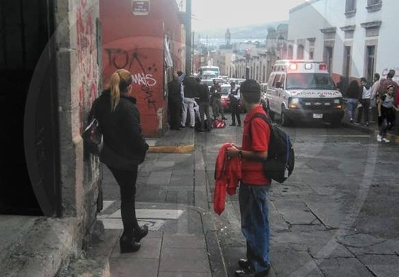 Adulto mayor muere en plena vía pública del Centro de Morelia