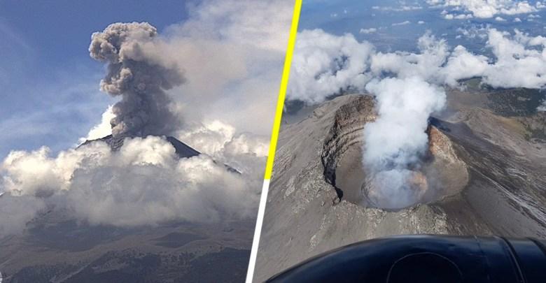 Volcán Popocatépetl pone en alerta a ciudadanos; podrían ser evacuados