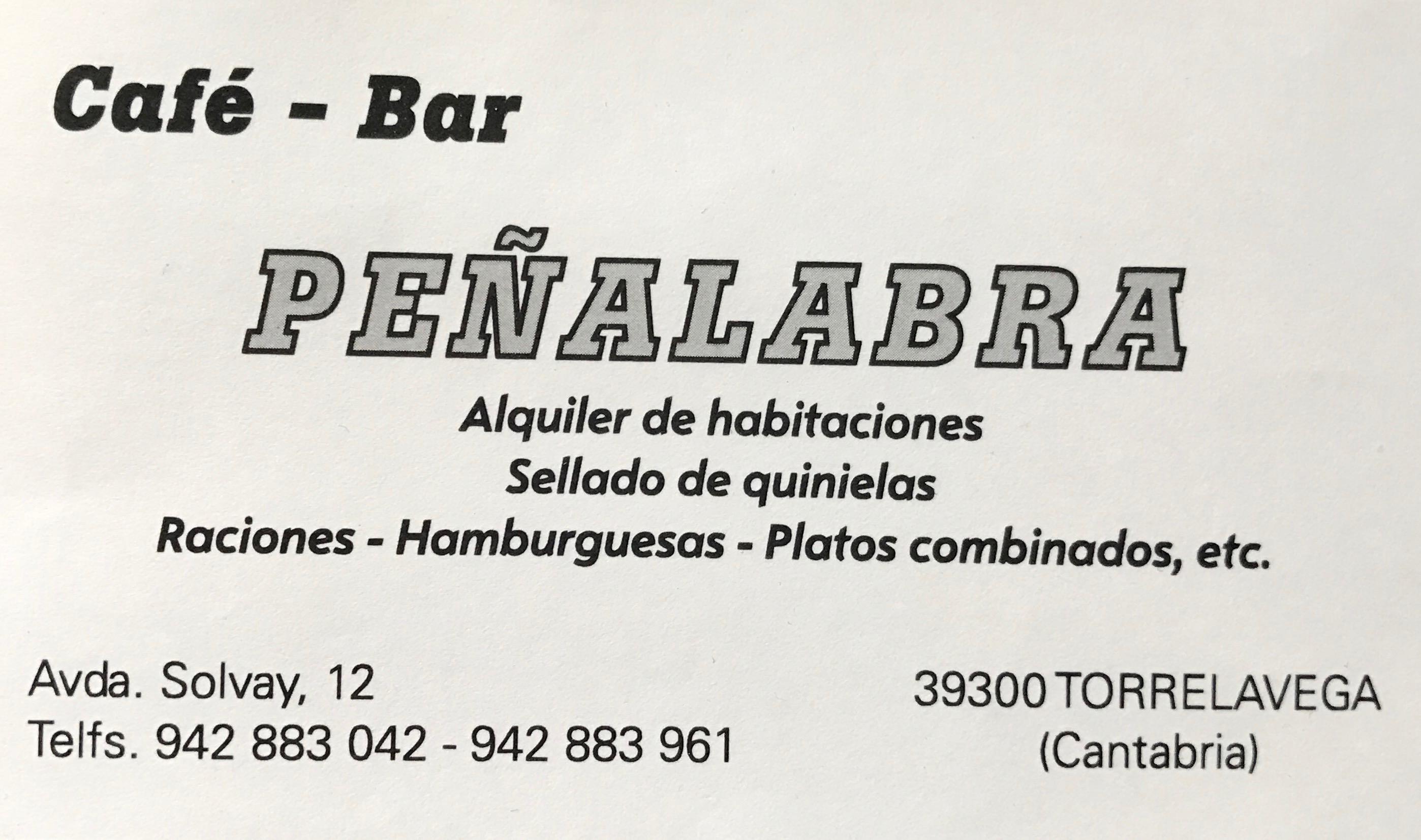 Café-Bar Peñalabra