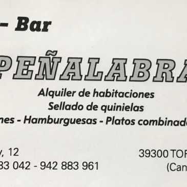 #PatrocinadorCBT – Café-Bar Peñalabra