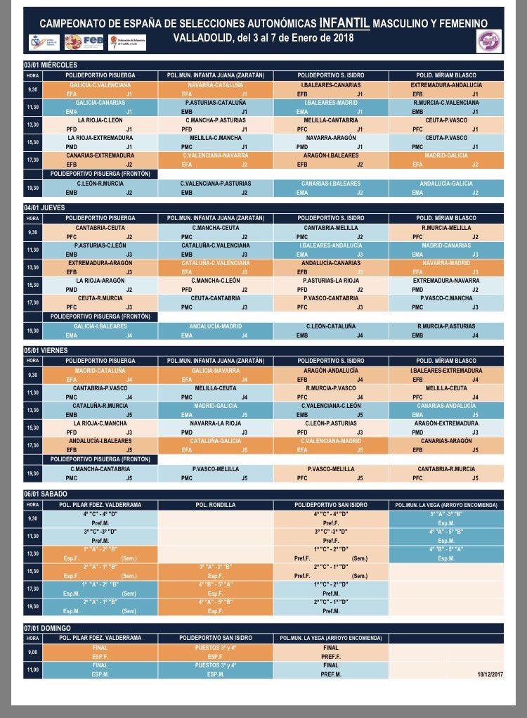 Calendario Infantil 2018