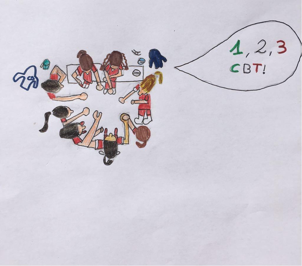 Dibujo CBT de Clara Becerril
