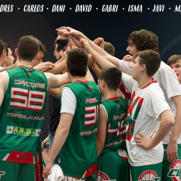 #SomosCBT – Cadete Masculino CBT Pescadería Nacho clasificado para la Final Four de Liga