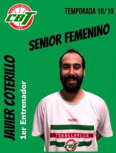 Javier Coterillo nuevo entrenador del femenino