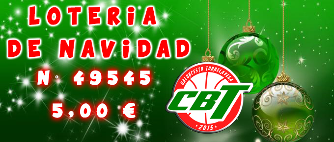 Lotería de Navidad CBT