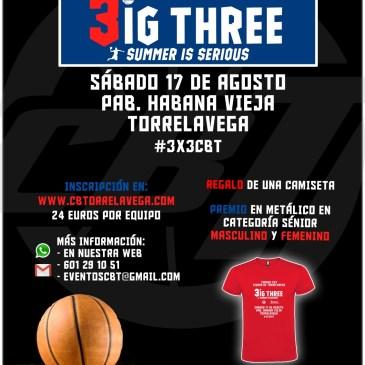 ¡Abiertas las inscripciones al 3×3 Ciudad de Torrelavega #3x3CBT!