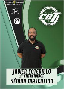 Javier Coterillo nuevo entrenador del primer equipo