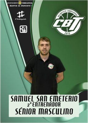Samuel San Emeterio nuevo entrenador del primer equipo